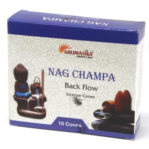 Κώνοι Backflow Aromatika Nag Champa
