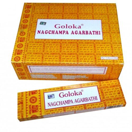 Αρωματικά Στικ Goloka Nag Champa 16γρ