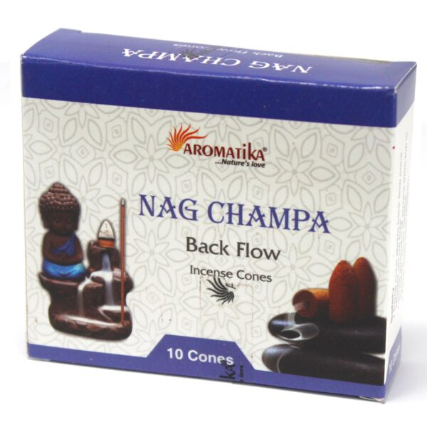 Nag Champa Backflow Cones - Aromatika