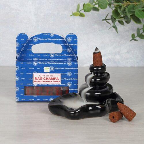 Sai Baba Satya - Nag Champa Backflow Cones