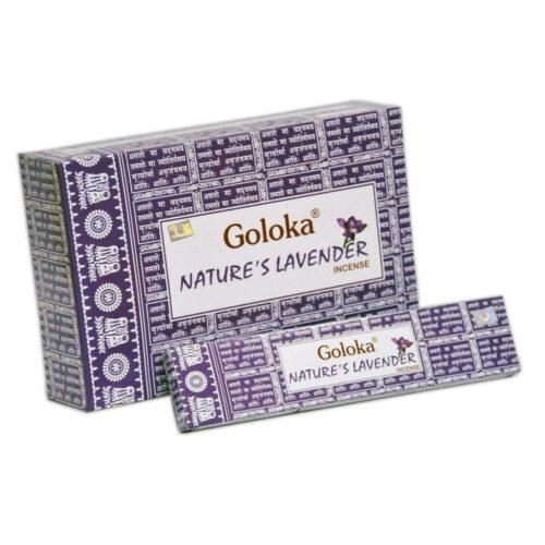 Goloka Natures Lavender Incense Sticks 15gr