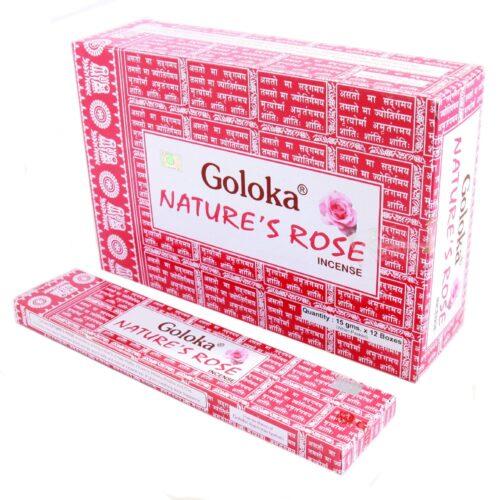 Αρωματικά Στικ Goloka Natures Rose - Τριαντάφυλλο 15γρ