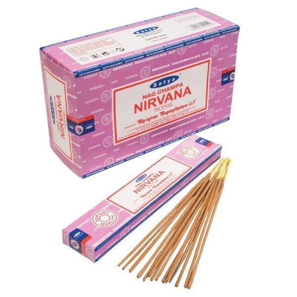 Αρωματικά Στικ Satya Nirvana - Νιρβάνα 15γρ