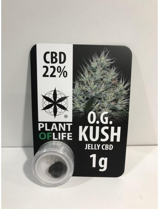 OG Kush Jelly CBD 22% - Plant Of Life