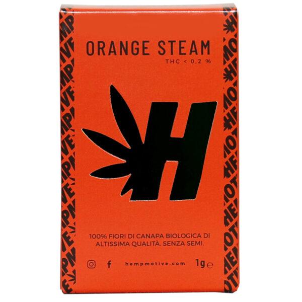 Orange Steam CBD Premium Buds - Hempmotive