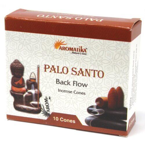 Κώνοι Backflow Aromatika Palo Santo - Πάλο Σάντο