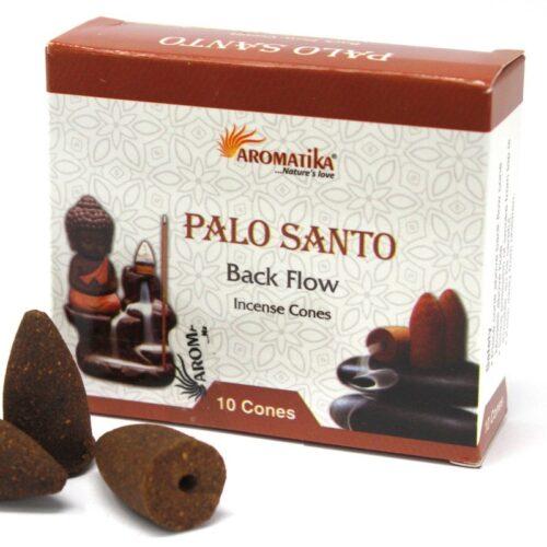 Palo Santo Backflow Cones - Aromatika