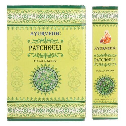 Αρωματικά Στικ Ayurvedic Patchouli - Πατσουλί 10γρ