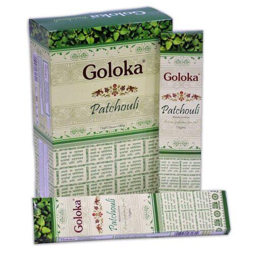 Αρωματικά Στικ Goloka Patchouli - Πατσουλί 15γρ