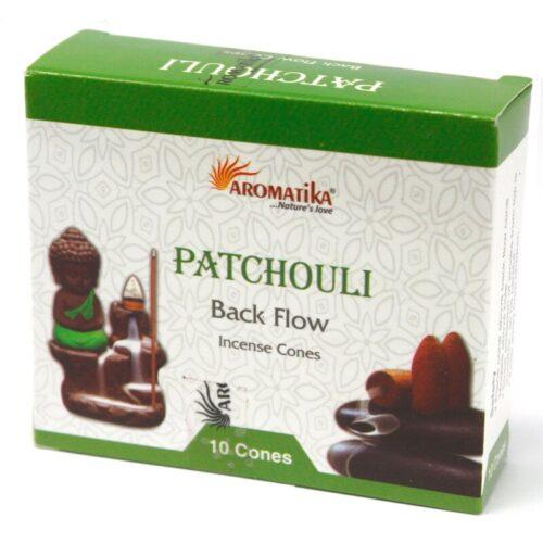Κώνοι Backflow Aromatika Patchouli - Πατσουλί