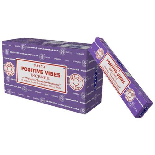 Αρωματικά Στικ Satya Positive Vibes - Θετικές Δονήσεις 15γρ