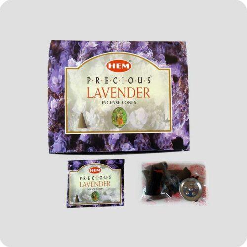 Αρωματικοί Κώνοι HEM Precious Lavender - Λεβάντα