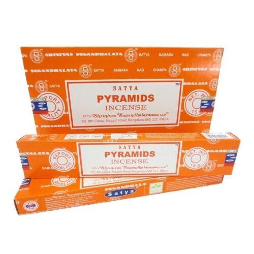 Αρωματικά Στικ Satya Pyramids - Πυραμίδες 15γρ