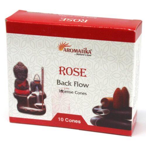 Κώνοι Backflow Aromatika Rose - Τριαντάφυλλο