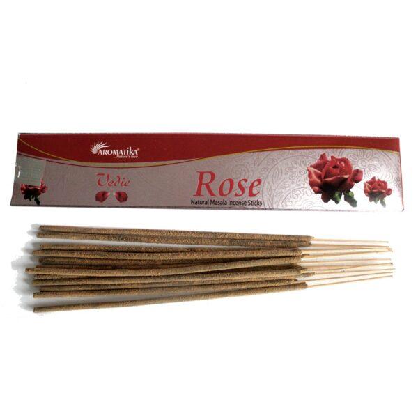 Αρωματικά Στικ Aromatika Rose - Τριαντάφυλλο 15γρ