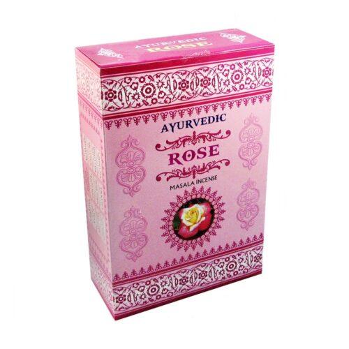 Αρωματικά Στικ Ayurvedic Rose - Τριαντάφυλλο 10γρ