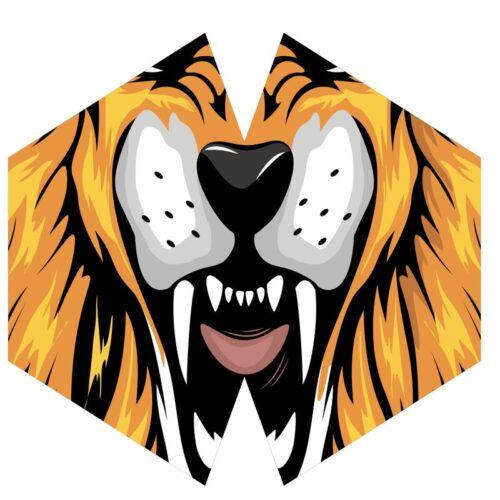 Μάσκα Προστασίας Προσώπου Tiger - Παιδιά