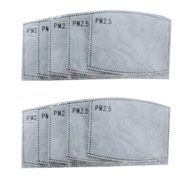 Φίλτρα Άνθρακα Για Μάσκες Προστασίας 4x PM2.5
