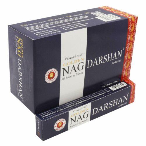 Αρωματικά Στικ Golden Nag Darshan 15γρ