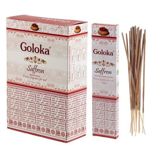 Αρωματικά Στικ Goloka Saffron - Σαφρόν 15γρ