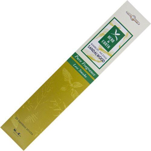 Αρωματικά Στικ Herb & Earth Sandalwood - Σανταλόξυλο