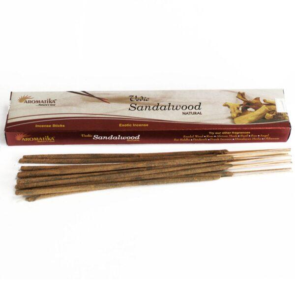 Αρωματικά Στικ Aromatika Sandalwood - Σανταλόξυλο 15γρ