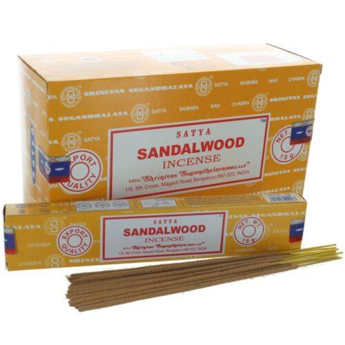 Αρωματικά Στικ Satya Sandalwood - Σανταλόξυλο 15γρ