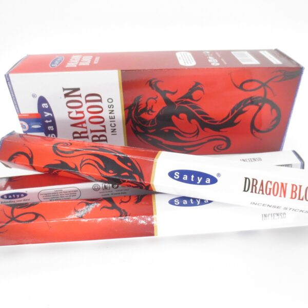 Αρωματικά Στικ Satya Dragon Blood - Αίμα Του Δράκου 20στικ