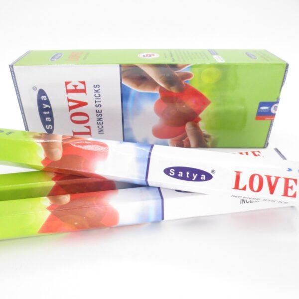 Αρωματικά Στικ Satya Love - Αγάπη 20στικ