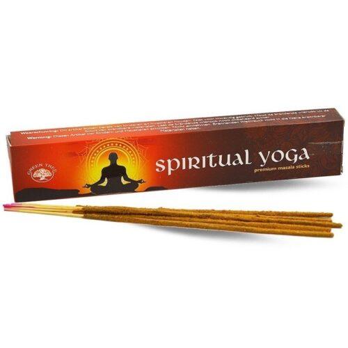 Αρωματικά Στικ Green Tree Spiritual Yoga - Πνευματική Γιόγκα