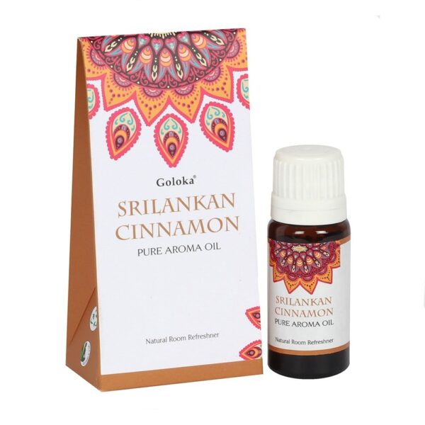 Αρωματικό Έλαιο Goloka Sri Lankan Cinnamon - Κανέλα