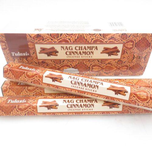 Αρωματικά Στικ Tulasi Nag Champa & Κανέλα 15στικ