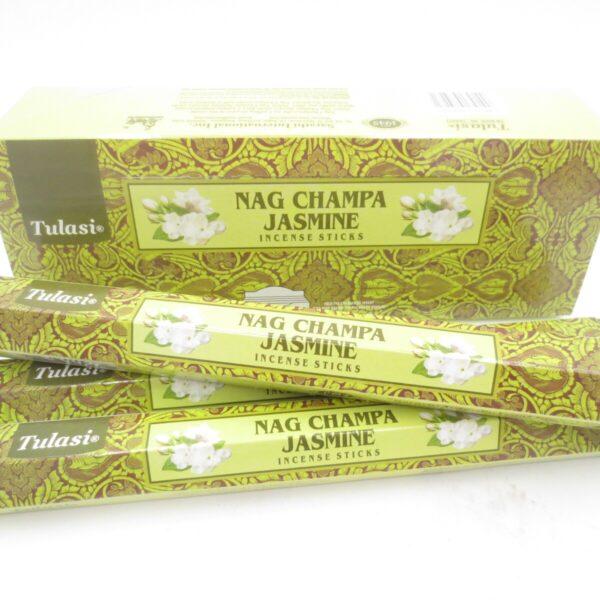 Αρωματικά Στικ Tulasi Nag Champa & Γιασεμί 15στικ