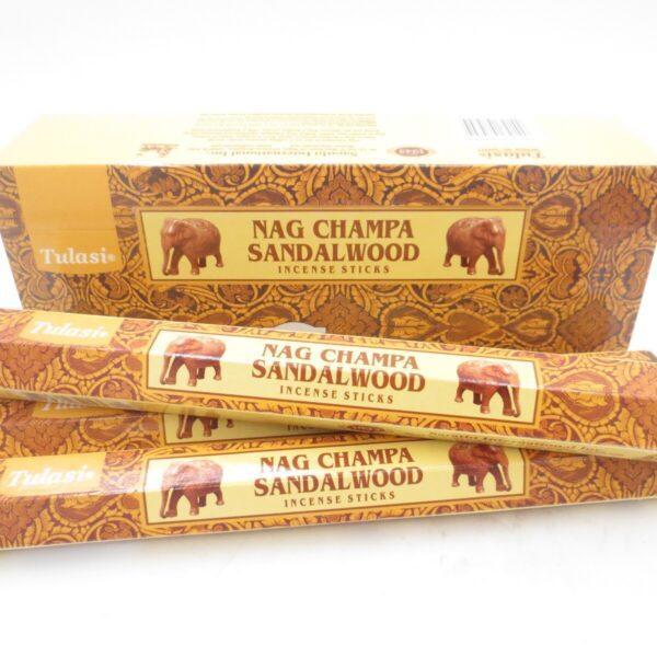 Αρωματικά Στικ Tulasi Nag Champa & Σανταλόξυλο 15στικ