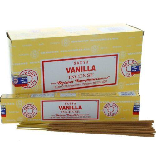Αρωματικά Στικ Satya Vanilla - Βανίλια 15γρ