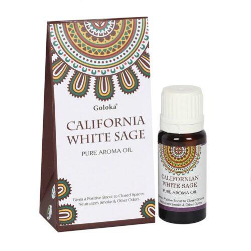 Αρωματικό Έλαιο Goloka California White Sage - Λευκό Φασκόμηλο