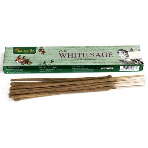 Αρωματικά Στικ Aromatika White Sage - Λευκό Φασκόμηλο 15γρ
