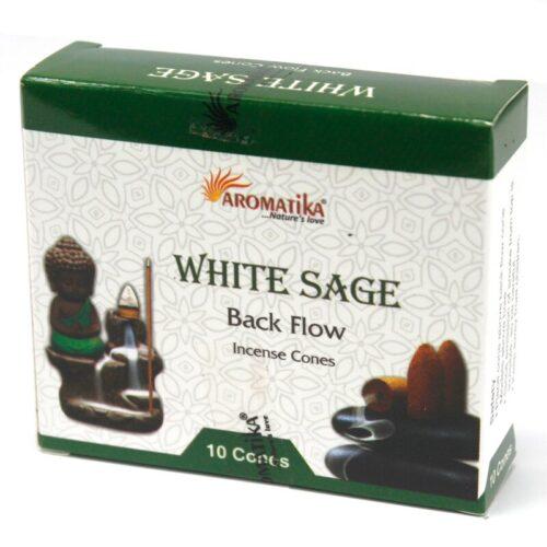 Κώνοι Backflow Aromatika White Sage - Λευκό Φασκόμηλο