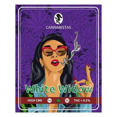 Ανθοί Κάνναβης White Widow CBD - Cannabistas