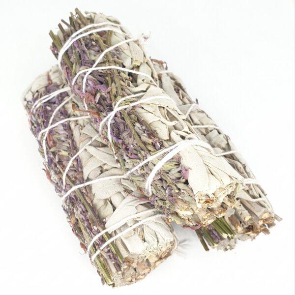 White Sage & Lavender Smudge Sticks 20-30gr