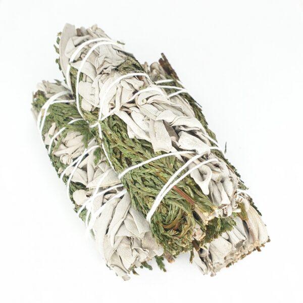 White Sage & Cedar Smudge Sticks 25-30gr