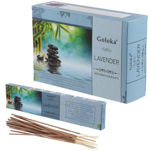 Αρωματικά Στικ Goloka Aromatherapy Series Lavender - Λεβάντα 15γρ