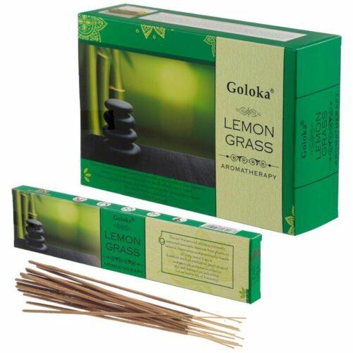 Αρωματικά Στικ Goloka Aromatherapy Series Lemongrass - Λεμονόχορτο 15γρ