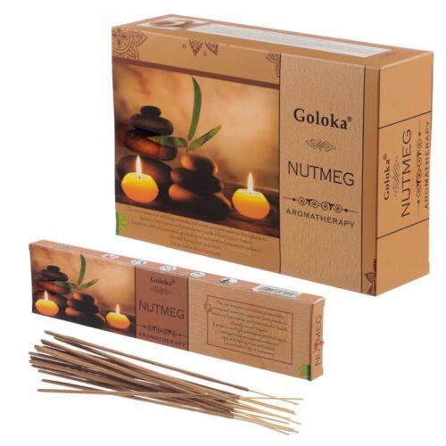 Αρωματικά Στικ Goloka Aromatherapy Series Nutmeg - Μοσχοκάρυδο 15γρ