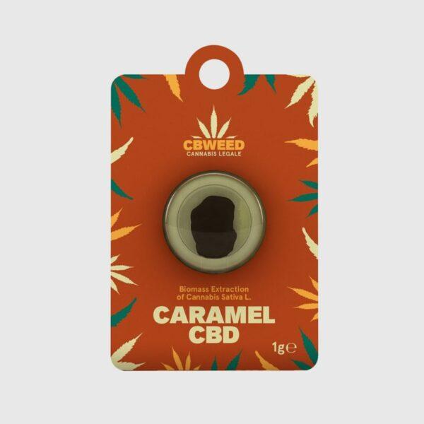 Caramel CBD – Biomass Extract 1gr - Cbweed