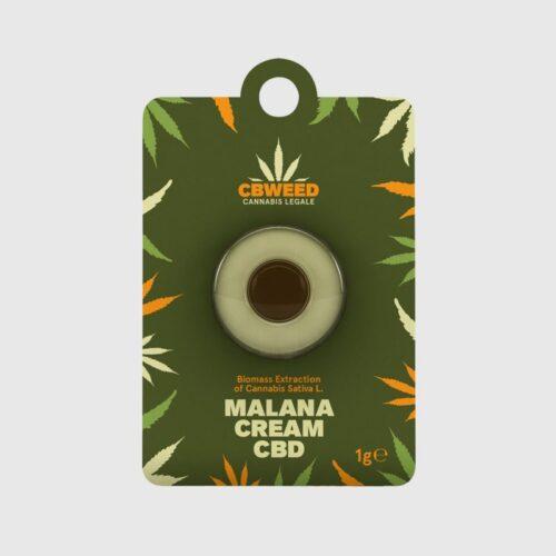 Malana Cream CBD – Biomass Extract 1gr - Cbweed