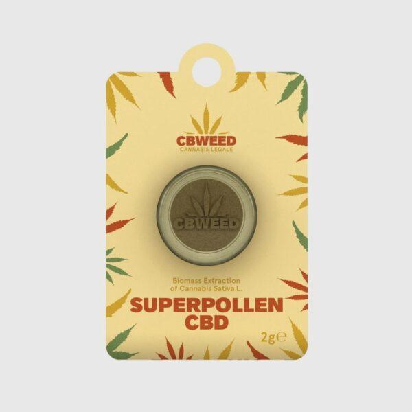 Super Pollen CBD – Biomass Extract 2gr - Cbweed