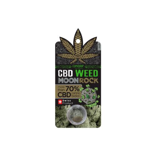 Moon Rock CBD Weed 70% Euphoria 0.7gr