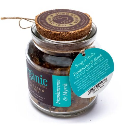 Ρητίνη Θυμιάματος Organic Goodness Frankincense & Myrrh 100gr