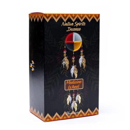 Αρωματικά Στικ Goloka Native Spirit Medicine Wheel – Μόσχος 15γρ
